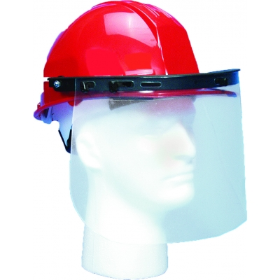 M50511, Hard Hat Plastic Face Shield, Mutual Industries