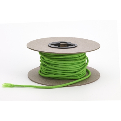 M5090-15NG, Shock cord, .125 in Wide, 15 yds, Neon Green, Mutual Industries
